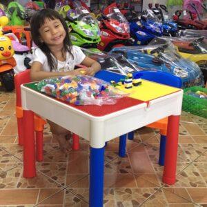 โต๊ะต่อเลโก้2in1